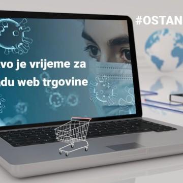 Koronavirus - Pravo vrijeme za izradu web trgovine