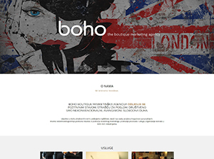 BOHO boutique marketing agency